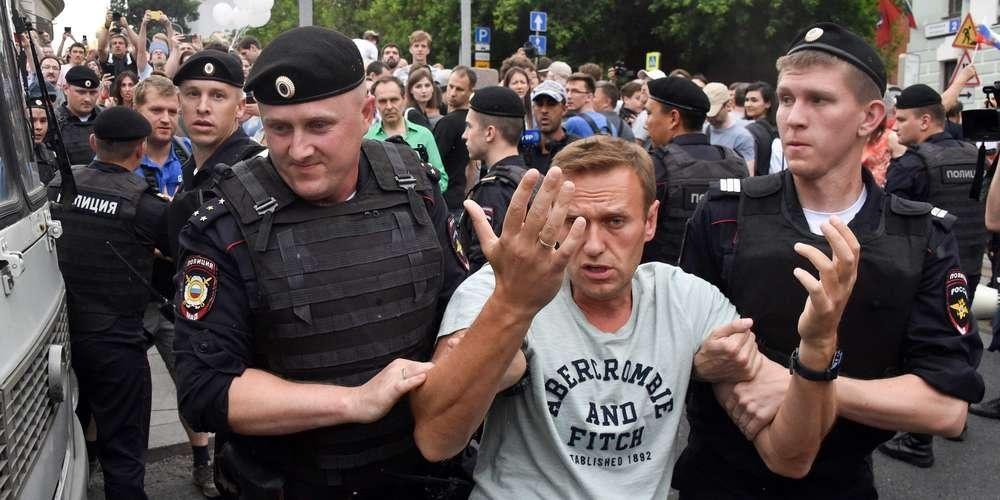 Alexeï Navalny prison